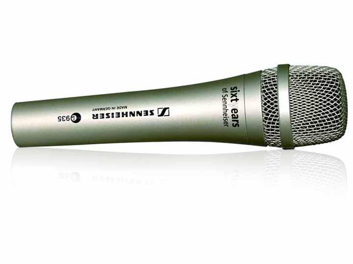 森海塞尔 e935纪念版进口专业手持话筒 舞台动圈麦克风 森海塞尔 e935