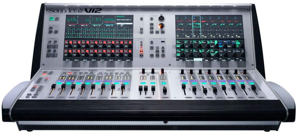 声艺 vi2 数字调音台
