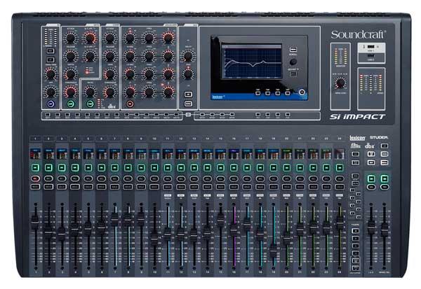 soundcraft 声艺 si impact 数字调音台 32路数字调音