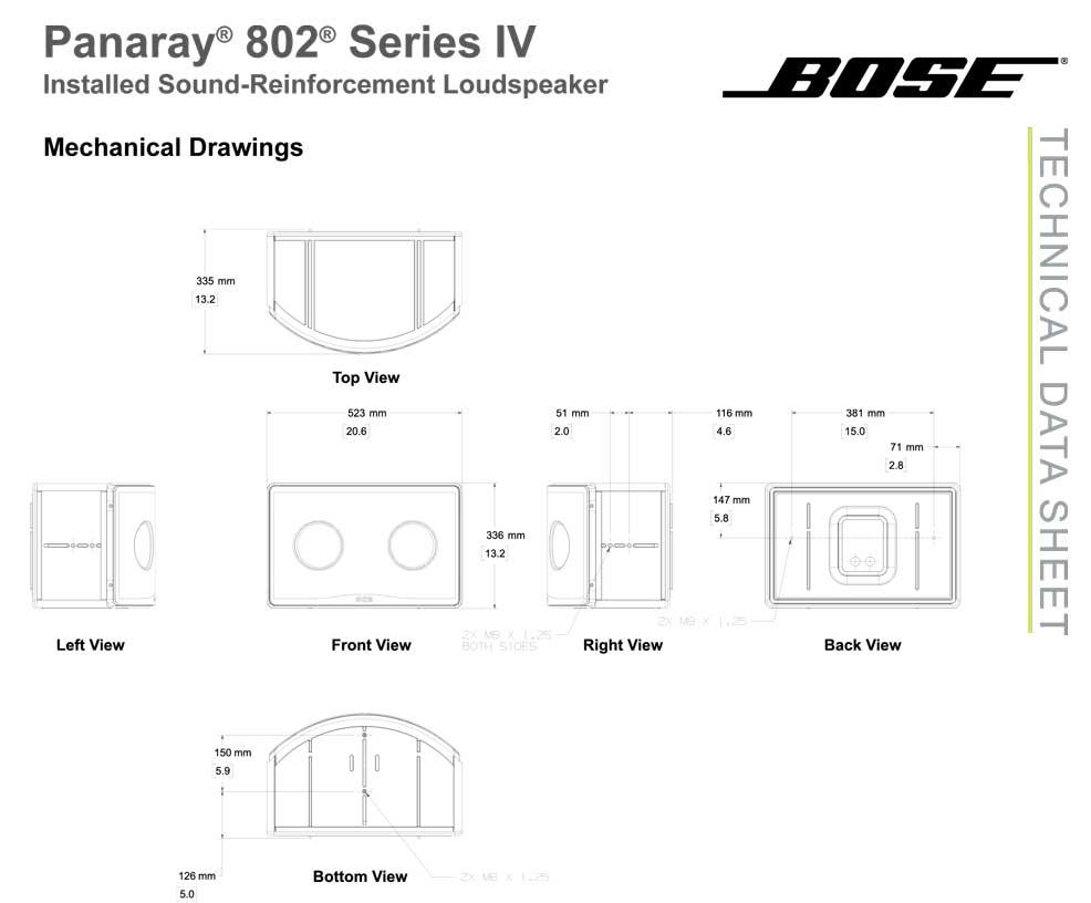 bose panaray 802 iv多用途扬声器音响批发零售 bose音箱 bose音响