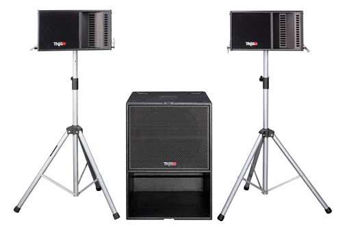 有源多用途小型线阵音箱系统