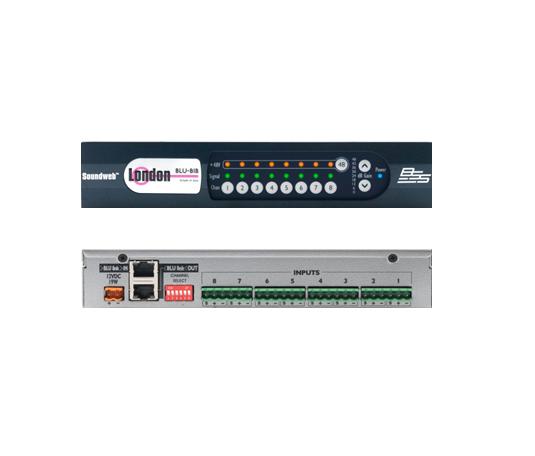 前面板led灯:信号削波电平,48v幻想电源,增益,电源指示灯 模拟输入:8