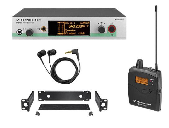 森海塞尔 ek 300 iem g3 ek300iemg3 ek-300-iem-g3 分集无线接收机