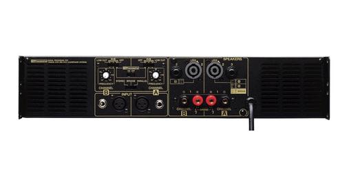 雅马哈工程师特别设计了全新的适用于俱乐部场所的P-S系列功放。 为了这种用途,功放输出能力必须符合适用于俱乐部等娱乐场所的Club 系列音箱,同时用YS处理器 (雅马哈的音箱处理器)对信号进行处理,才能发挥最优的系统性能。从使用 4 ohm阻抗桥接模式的3200w型号P7000S 到1300 w型号的P2500S,功率充足。 如果要为500-w的Club S115s 配置功放,那么8 ohm阻抗,每路500-w的P5000S明显是最好的选择。 如需进一步提高精度,还可以配置价格实惠的雅马哈YS处理器电路。