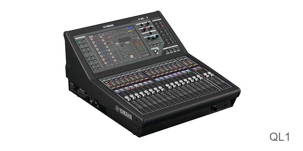 ql系列调音台所使用的电路和零件经过精挑细选,目的就是从输入到输出